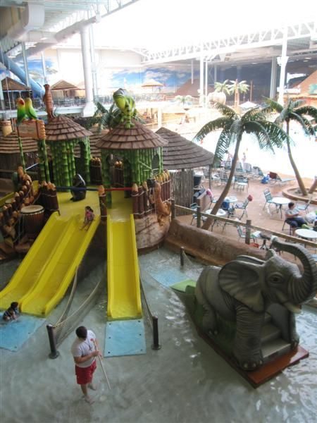 Kalahari Resort: Largest Indoor Water Park in the United States