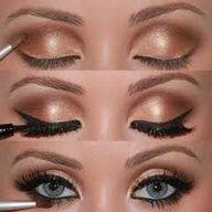 How to do Adele eyes