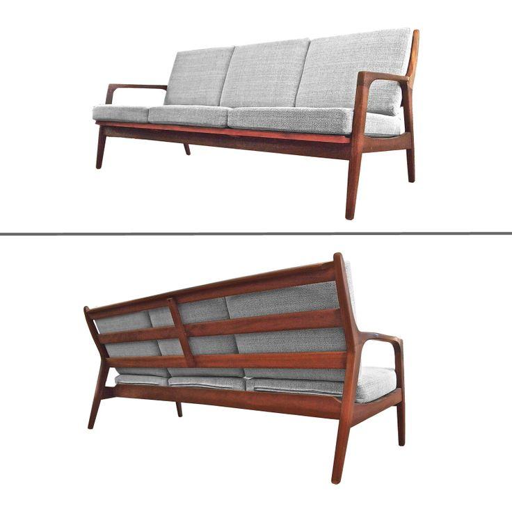 teak sofa, mid century , danish, scandinavian