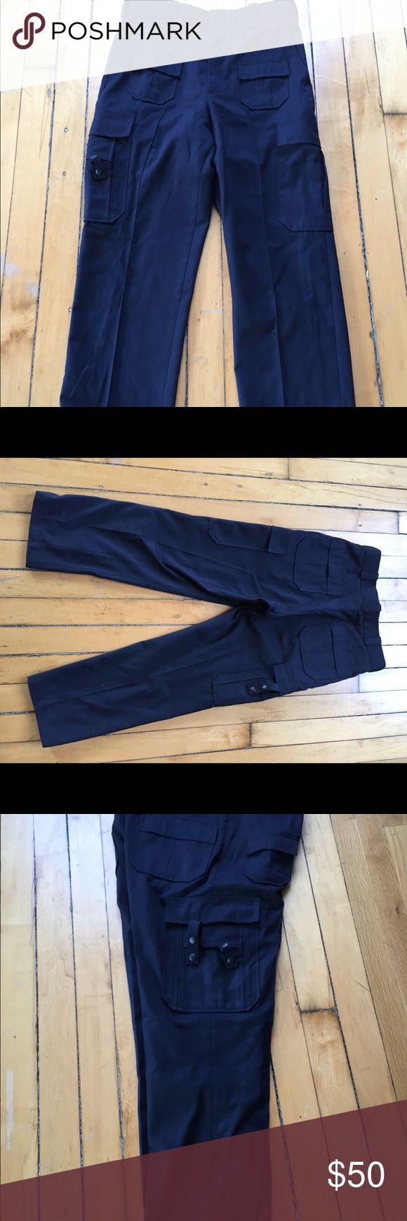 Flying Cross uniform pants Flying cross uniform emergency service pants dark navy, brand new without tags 34 Reg x ~30inseam flying cross Pants Cargo