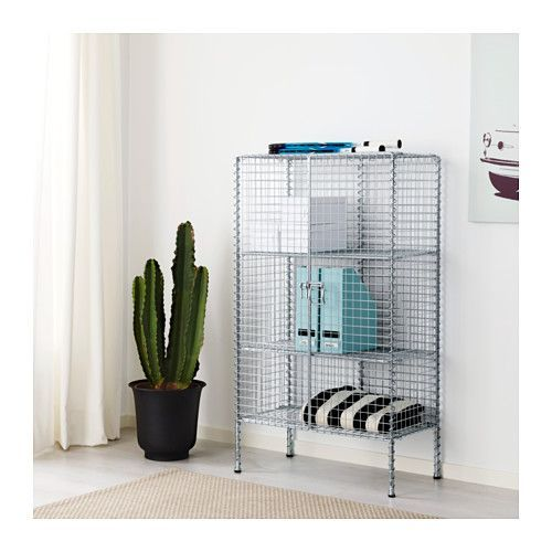 IKEA PS 2017 Storage unit  - IKEA- breathable yet cat-proof plant shelf  - in front of window?