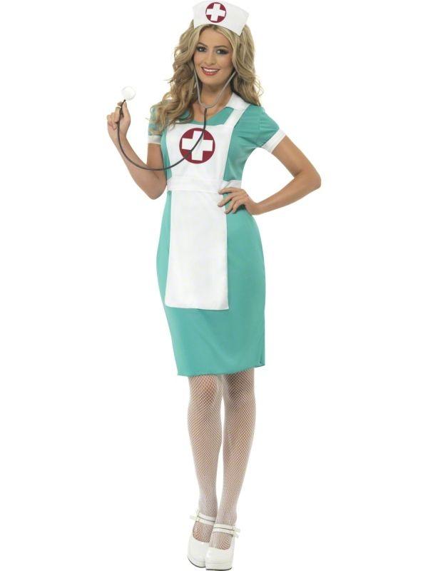 Strój pielęgniarki, dzięki któremu zwrócisz uwagę wszystkich uczestników imprezy. Doskonały na bal przebierańców.