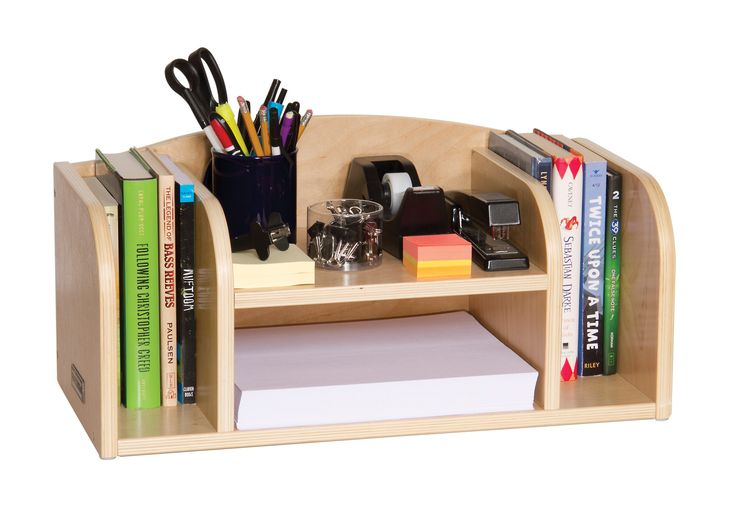 Classroom Furniture Low Desk Organizer