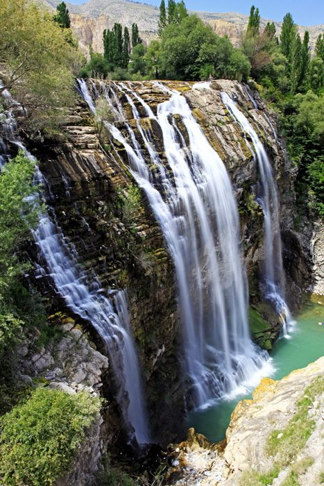 Tortum Waterfall-Uzundere-Erzurum-Turkey