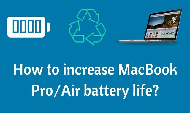 MacBook usually gives a long lasting battery life of about 9 hours as said by many specialists. It's not usually possible to carry a portable charger all the time so these tips are going to be useful