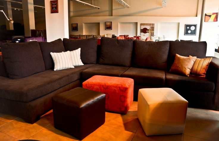 Sillon esquinero con puffs jard n y muebles pinterest for Sofa esquinero jardin