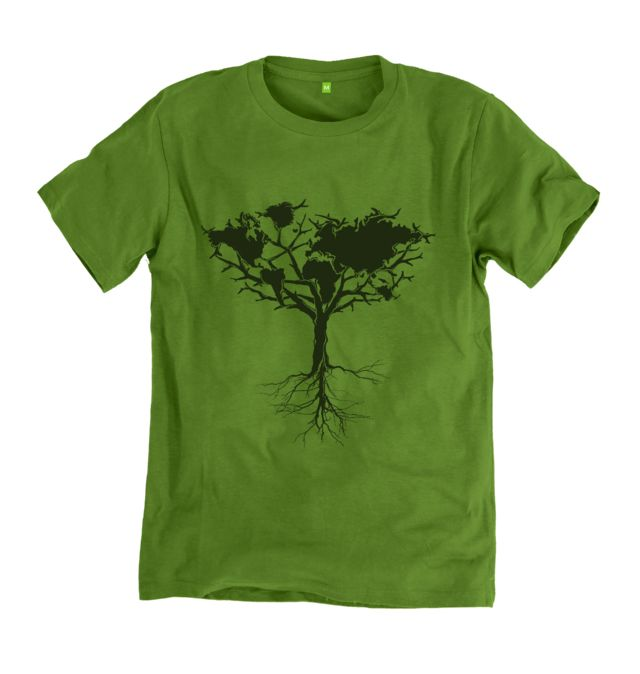An absolute classic Earth Tree t-shirt from one of our bestselling categories. The amazing organic cotton softness make for a tee that is perfect for summer. In stock now with fast order processing, and hassle free returns and exchanges.