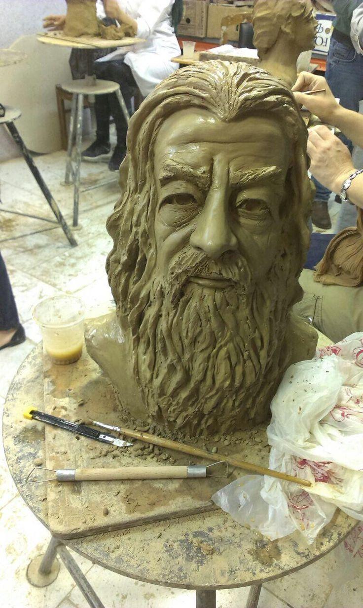 It's my first sculpture .