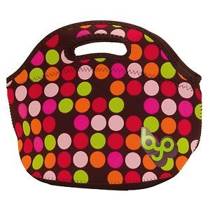 built lunch bags | Details about BUILT Multicolor Neoprene Rambler Polka Dots Lunch Bag ...