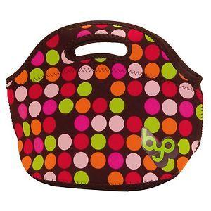 built lunch bags | Details about BUILT Multicolor Neoprene Rambler Polka Dots Lunch Bag ...