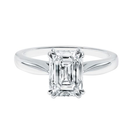 Emerald Cut Engagement Rings Harry Winston Ringscladdagh
