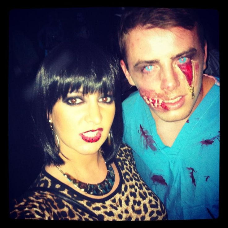 #specialeffect #halloween #makeup with Jessie J (attempt) ha