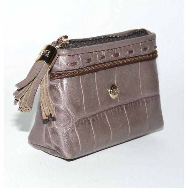 lancel sac cuir crocodile portefeuille et porte monnaie found on polyvore. Black Bedroom Furniture Sets. Home Design Ideas