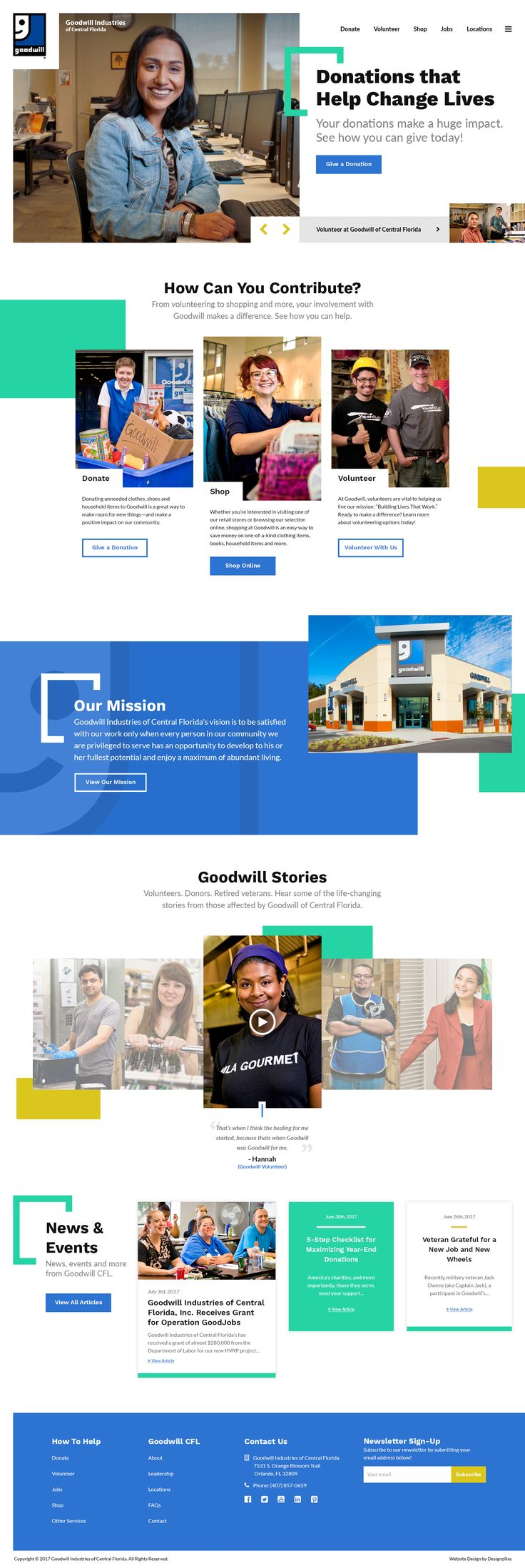 Goodwill dribbble home