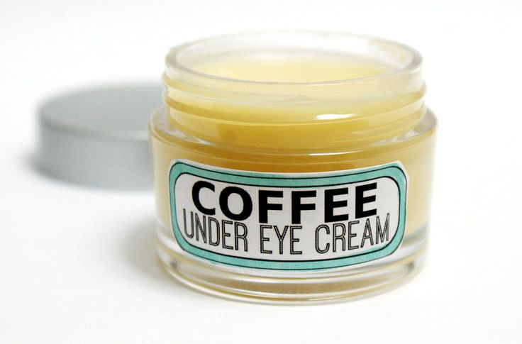 This DIY coffee under eye cream recipe is made using homemade coffee infused oil to help with those dark under eye circles, puffiness and even fine lines.
