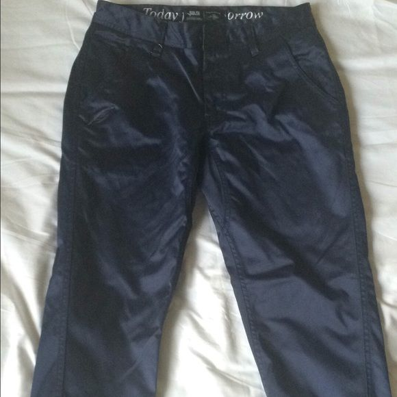 Publish Jogger Pants Navy (Men's) Men's Publish navy jogger jeans. Really comfortable. Only worn once. Shiny material. Publish Jeans