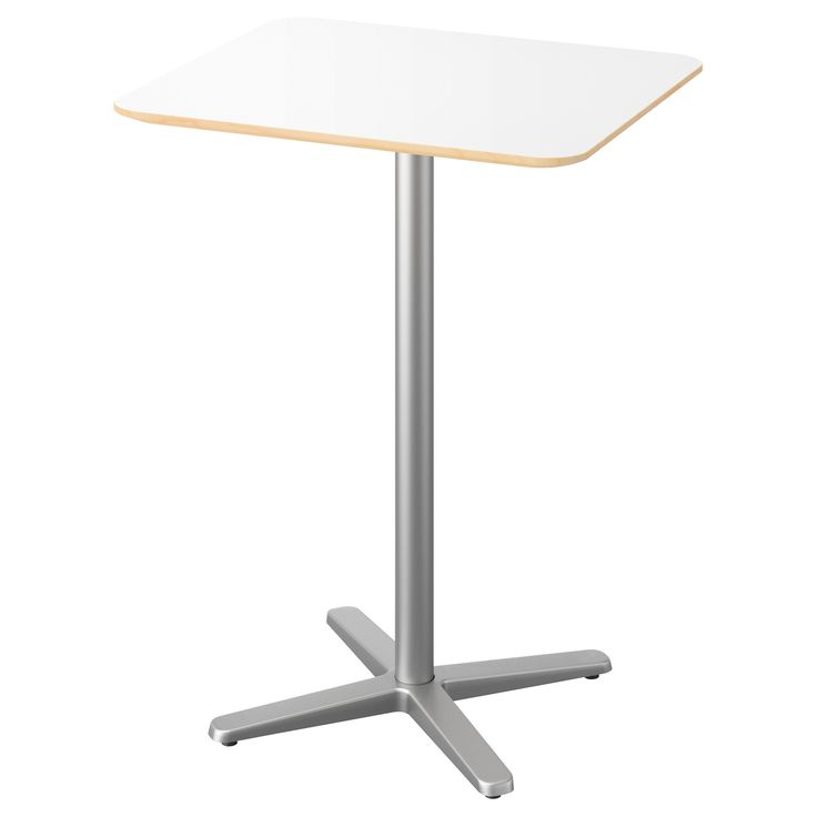 Ikea 365 glass clear glass high tops bar tables and - Table haute ikea ...