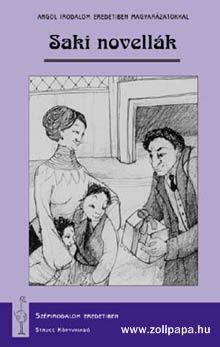 Saki novellák - magyarázatokkal Terjedelem: 79 oldal Leírás: Saki fanyar stílusa, választékos mondatformálása, meghökkentő fordulatai és a novellák végén elmaradhatatlan csattanók leginkább eredetiben élvezhetők. A kötet néhány izgalmas, humoros novelláját tartalmazza a századforduló és az első világháború között alkotó írónak. A könyv az alábbi novellákat tartalmazza: Dusk The Toys of Peace The Lumber-room Bertie's Christmas Eve The Wolves of Cernogratz Tea www.zolipapa.hu