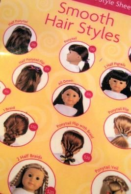 Excellent 1000 Ideas About American Girl Hairstyles On Pinterest Doll Hairstyle Inspiration Daily Dogsangcom