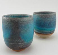 Tsuji Yoshiko ceramic cups