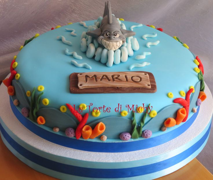 Cake Decorating Ideas Shark : Shark Cake Le Torte di Michy