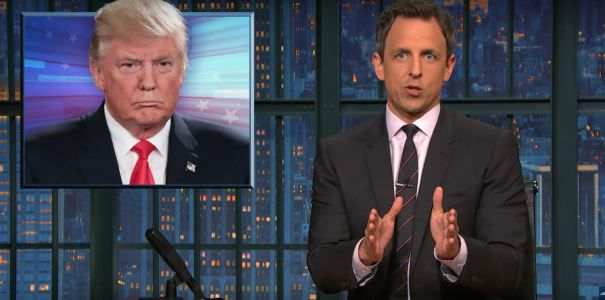 "Seth Meyers: ""Donald Trump A Hacked Email Come To Life"""