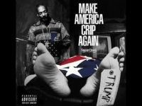 Snoop Dogg Album Cover Art Depicts Trump Dead Under American Flag! Imagine if a white guy did this with Obama. How is this acceptable?