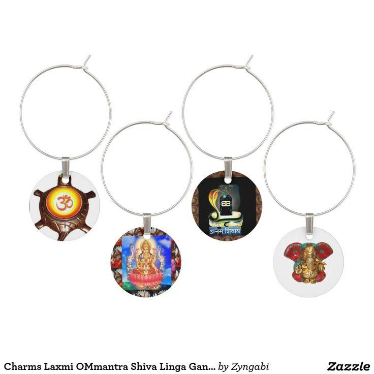 Charms Laxmi OMmantra Shiva Linga Ganapat Ganesha