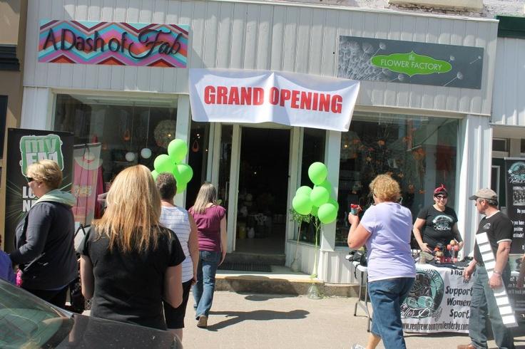 Grand Opening  May 4th 2013