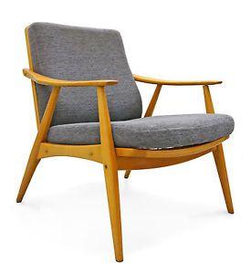 easy chair midcentury MODERN 60er Sessel 50er lounge arm-chair knoll era