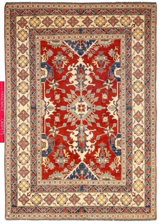 Solo Rugs Kazak Sochi Hand Knotted Area Rug 7 9 X 10 10 With
