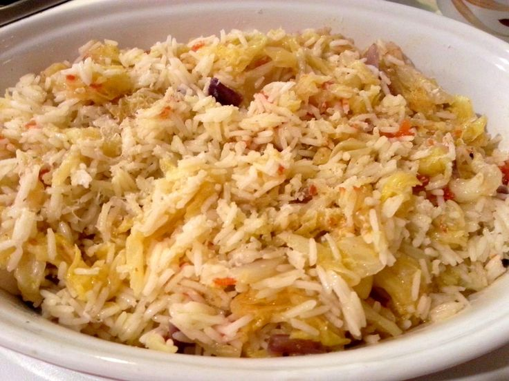 Cabbage recipes, Cabbages and Rice on Pinterest