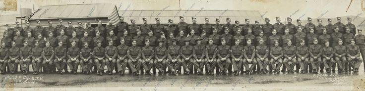 Army; No. 33 E. Company 2.T.U., 7th Reinforcement. [P5-109-1821] | Upper Hutt City Library