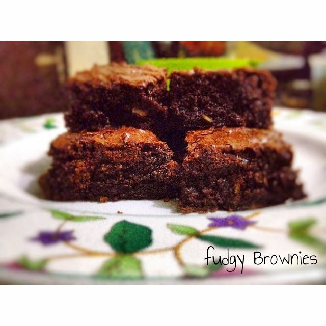 dineat : Fudgy Brownies