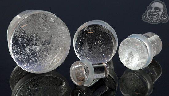 Le cristal de roche SF branche 8g 3mm 6g 4mm 4g par Bodyartforms