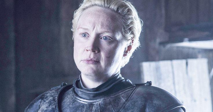 Brienne's Badass Side Returns in 'Game of Thrones' Season 6 -- Gwendoline Christie reveals her character Brienne of Tarth will 'burst forth' in Season 6 of 'Game of Thrones'. -- http://movieweb.com/game-of-thrones-season-6-brienne-gwendoline-christie/