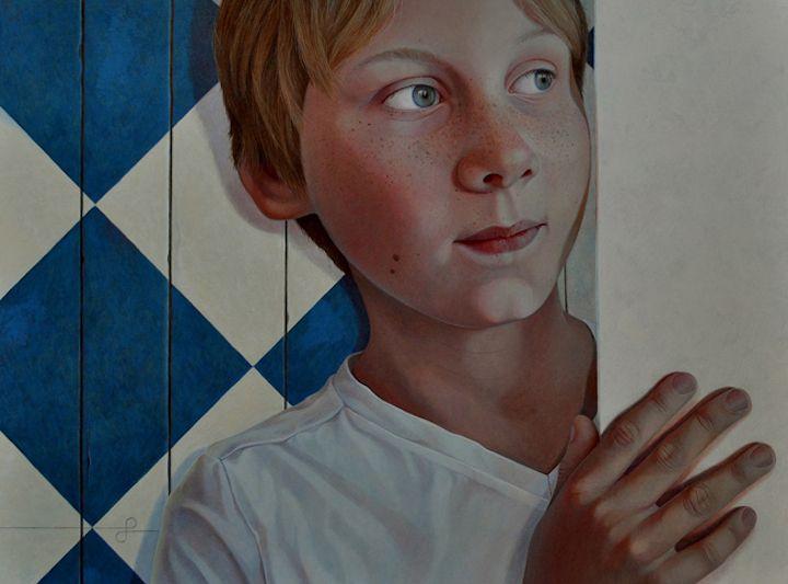 jantina peperkamp art | Photorealistic Paintings by Jantina Peperkamp