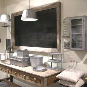 Tableau Ardoise Deco Cuisine. Maisonsalon Cuisine Salle With ...
