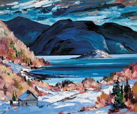 The Saguenay. Bruno Côté