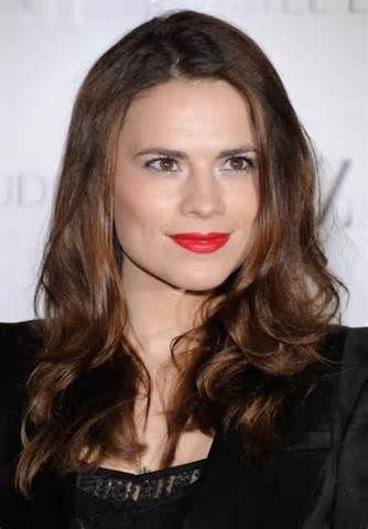 Hayley Atwell, to play Cinderella's mother in the 2015 movie, born 4/5/1982