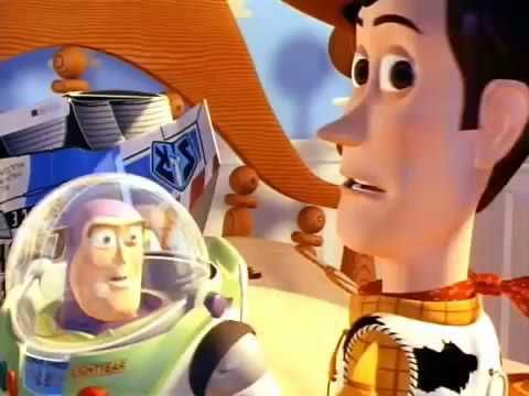Here's the original trailer for Disney and Pixar's 1995 movie, Toy Story.