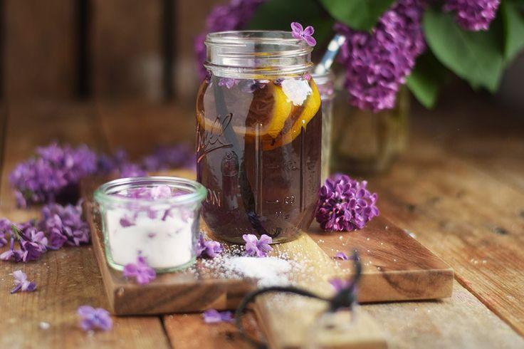 Fliederblütensirup: Frühling im Glas