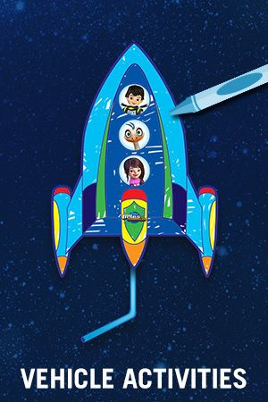Miles From Tomorrowland: Space Missions - Vehicles Activities
