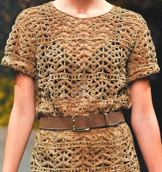 patternprints journal: PATTERNS AND INTERLACEMENTS FROM PARIS FASHION WEEK