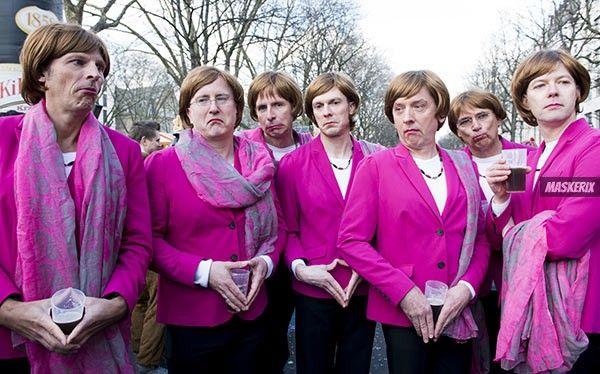 Angela Merkel Kostüm selber machen