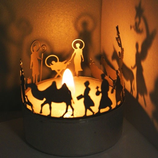 Candle nativity