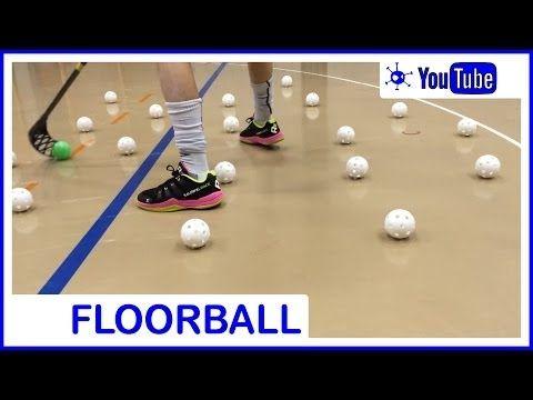 Floorball Stickhandling - YouTube