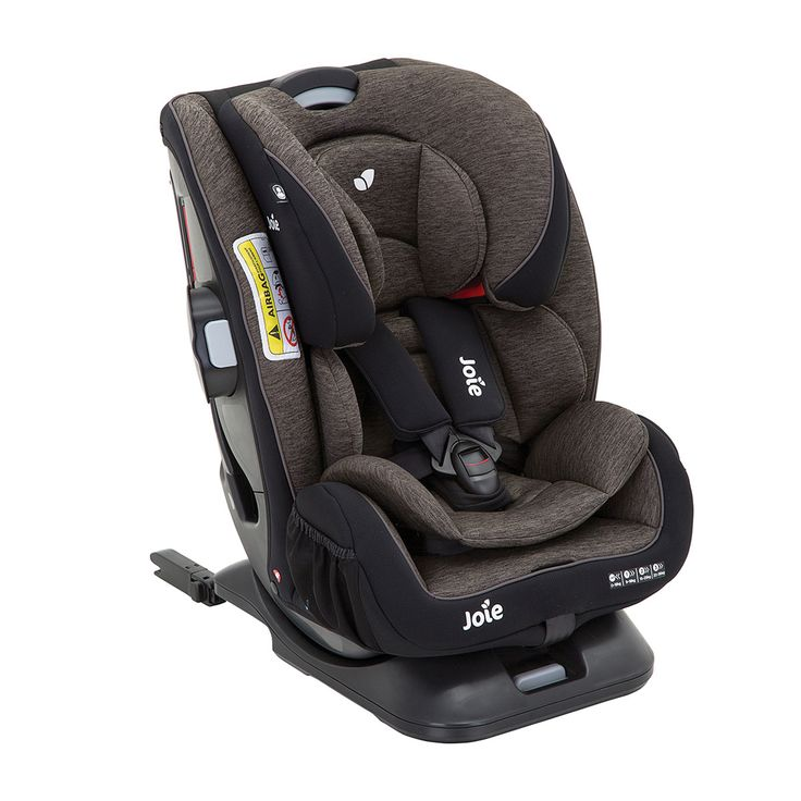 Silla de Auto Joie Every Stages FX Isofix Ember gris oscuro - Grupo 0+/1/2/3