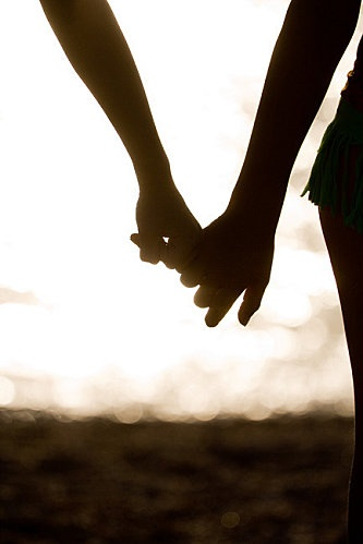 ...And when you hold my hand, I know there's nothing in this world we can't face together...