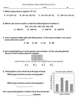 Show What You Know 3rd Grade Eog Math Review 16 Practice Tests